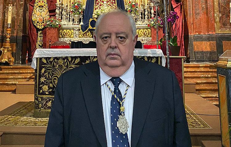 Miguel Falcón Matos pregonará el cincuentenario de la hermandad de la Quinta Angustia