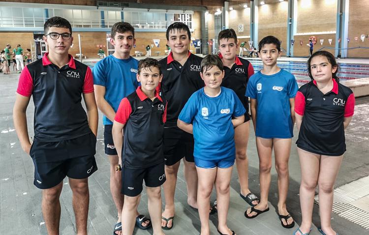Vuelve la natación para los más pequeños en el Club Natación Utrera