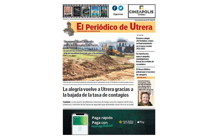 Toda la información sobre la ciudad se da cita en «El Periódico de Utrera»