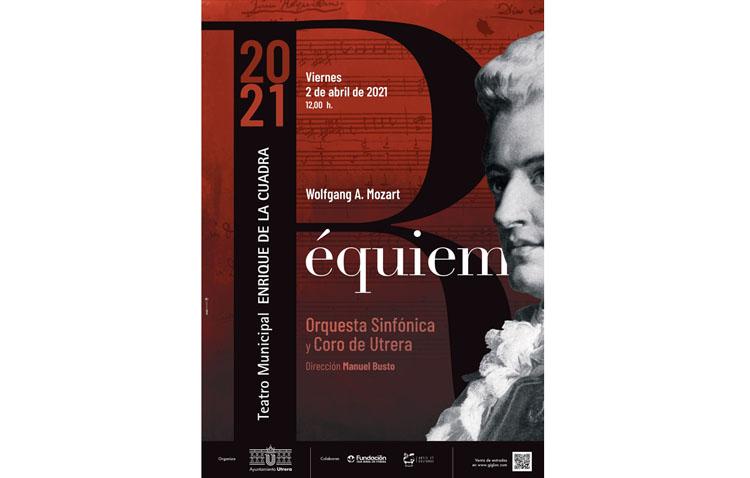 El «Réquiem» de Mozart llega el Viernes Santo al teatro de Utrera