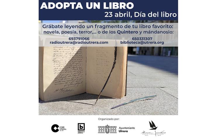 COPE Utrera (98.1 FM) y la Biblioteca Pública Municipal de Utrera ponen en marcha la campaña «Adopta un libro de los Quintero»