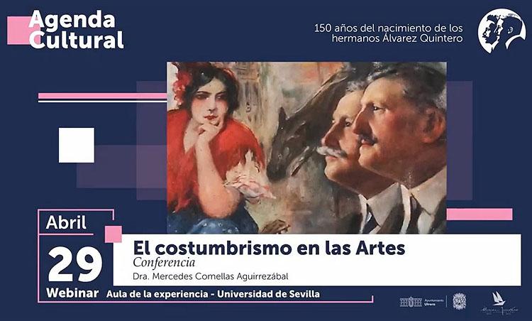 El webinario dedicado a los Álvarez Quintero queda aplazado hasta finales de mayo