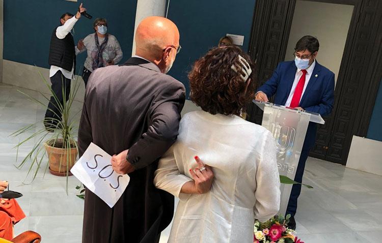 La divertida (y viral) fotografía de una boda en Utrera