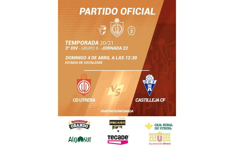 C.D. UTRERA – CASTILLEJA C.F.: Al Utrera le sirve el empate para disputar la liguilla de ascenso a Segunda RFEF