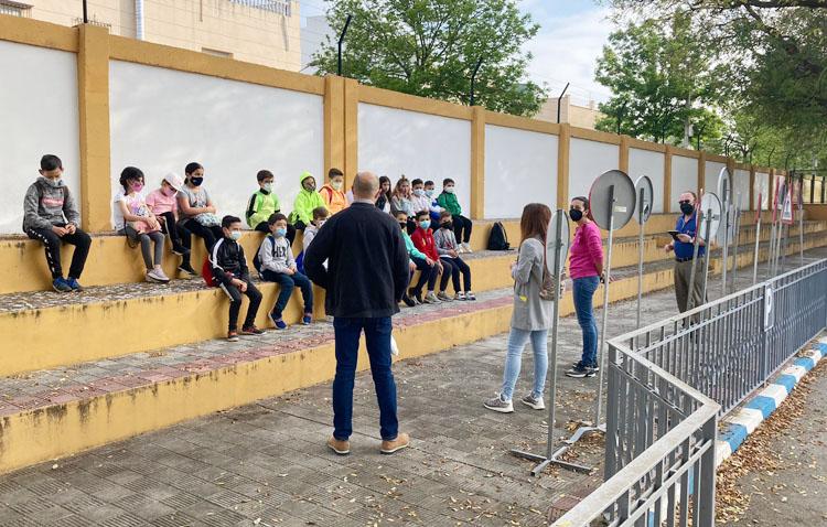 El centro de educación vial de Utrera reabre sus puertas tras una «modernización y remodelación» de las instalaciones
