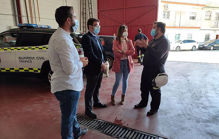 Ciudadanos reclama a la Diputación que Utrera se incorpore al consorcio provincial de Bomberos
