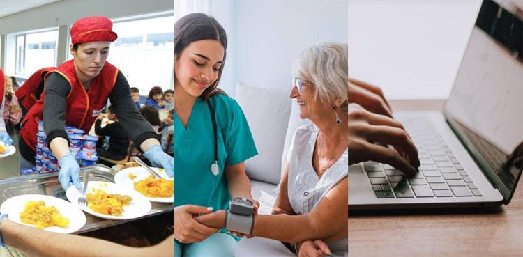 Utrera acoge tres cursos de monitor de comedor, de cuidados auxiliares de enfermería y de informática básica