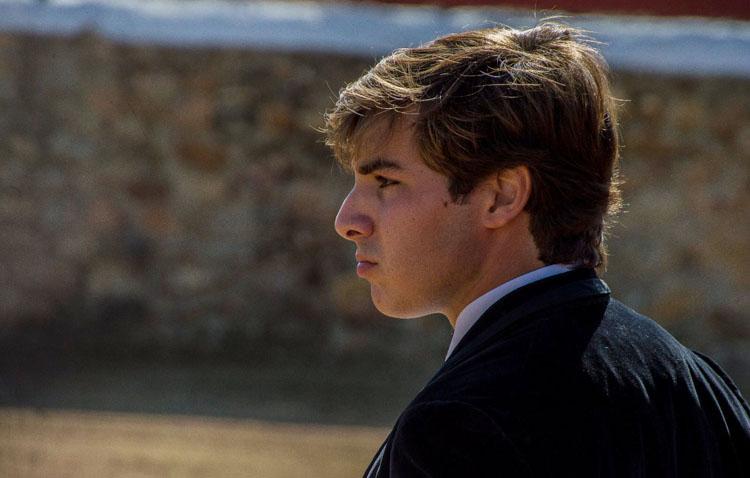 Ignacio García, alumno de la escuela taurina «Curro Guillén» de Utrera, clasificado para las novilladas del Canal Sur Televisión