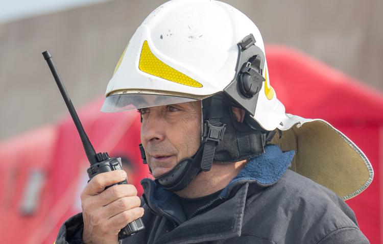 El utrerano José María Martín Corrochano, un militar presente en misiones humanitarias en lugares tan conflictivos como Irak o Bosnia