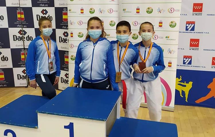 Tres medallas para el karate utrerano en la «I Copa de España de Estilos»