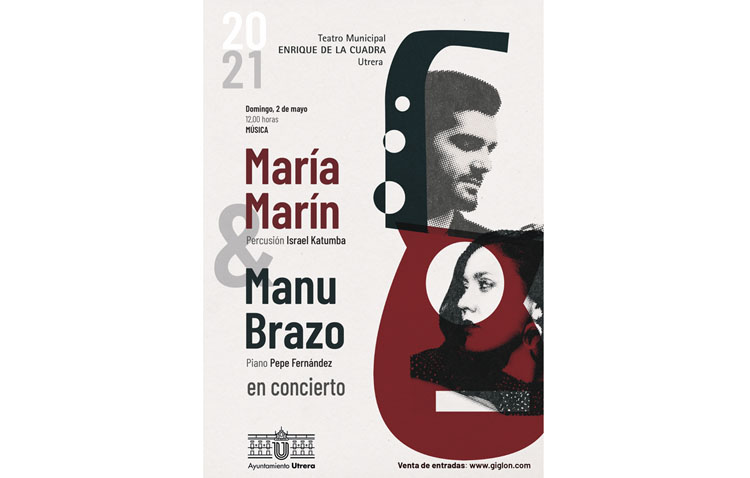 Cita utrerana en el «Enrique de la Cuadra» con María Marín y Manu Brazo