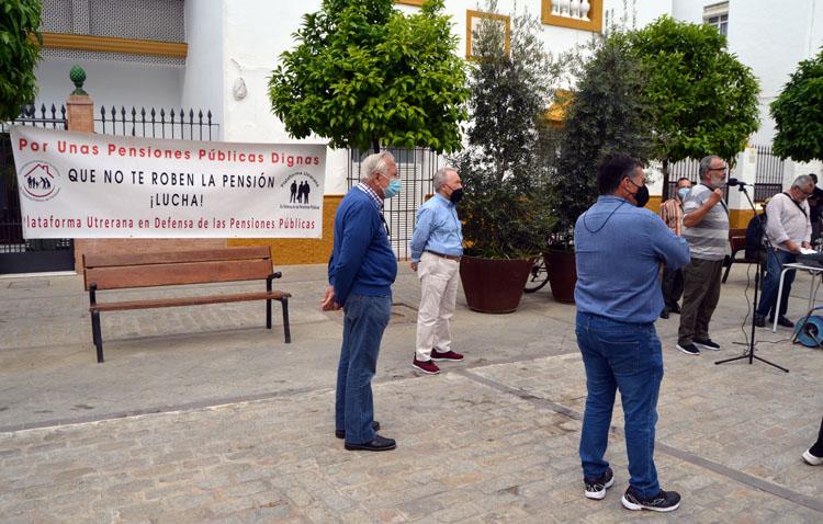 Nueva cita en Utrera para defender las pensiones públicas
