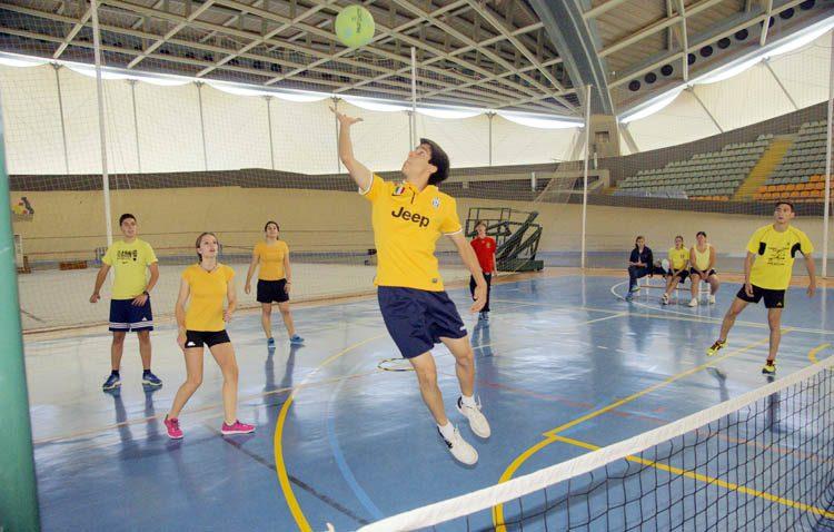 El pinfuvote, un deporte «ideal» para practicar en tiempos de COVID-19