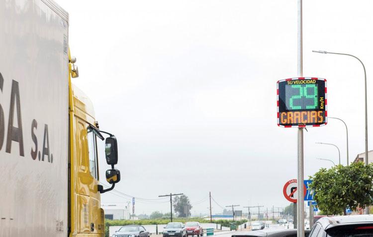 Utrera instalará «radares pedagógicos» para concienciar a los ciudadanos sobre la velocidad al volante