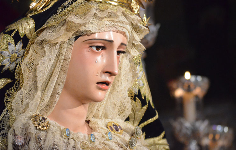 La hermandad de la Trinidad celebra los cultos anuales en honor a la Virgen de los Desamparados