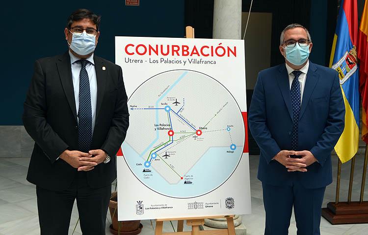 Histórico pacto entre Utrera y Los Palacios para crear un mejor futuro común