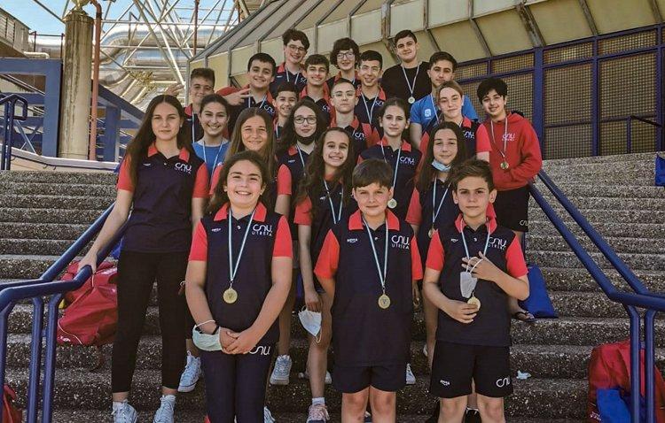El Club Natación Utrera consigue más de una decena de medallas en el «II trofeo inclusivo Esperanza Iglesias»