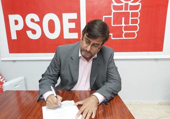 José María Villalobos ofrece su apoyo a Juan Espadas en las primarias del PSOE andaluz