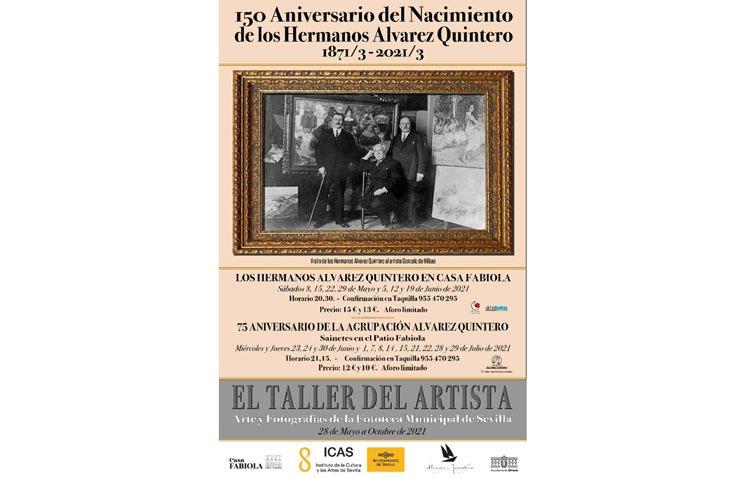 Las obras de los Álvarez Quintero, protagonistas de un ciclo de teatro en Sevilla