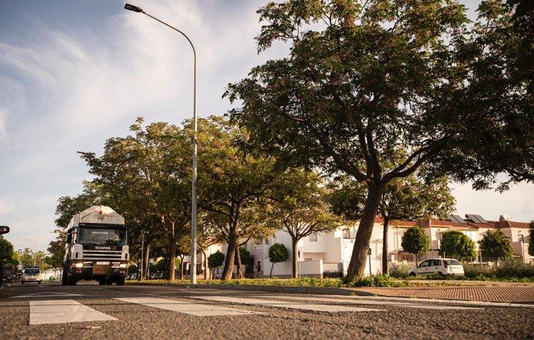 Utrera echa el freno en sus calles para reducir los accidentes de tráfico