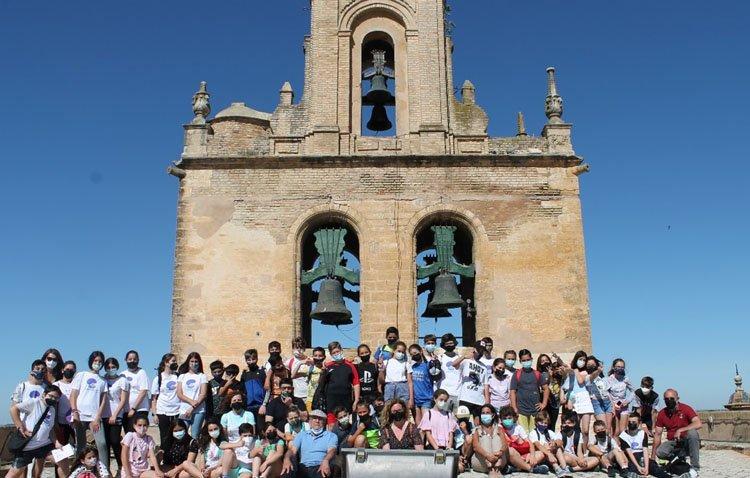 La histórica tradición campanera de Utrera, al alcance de los más pequeños gracias a un curioso proyecto educativo