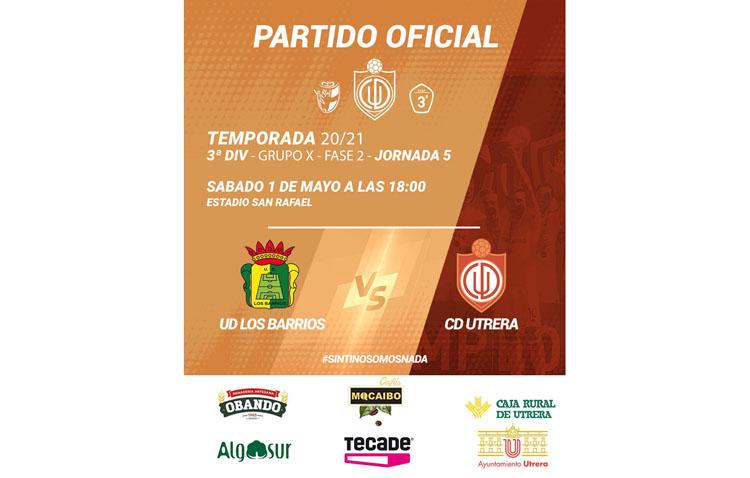 UD LOS BARRIOS – CD UTRERA: Victoria para asegurarse el pase al play off