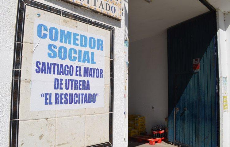 Vox critica el «postureo» del alcalde de Utrera con el comedor social