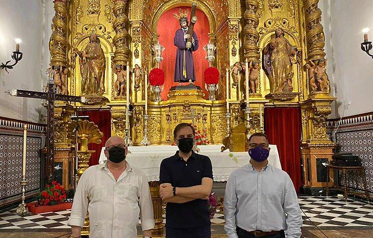 Utrera conmemorará el 425º aniversario de la imagen de Jesús Nazareno