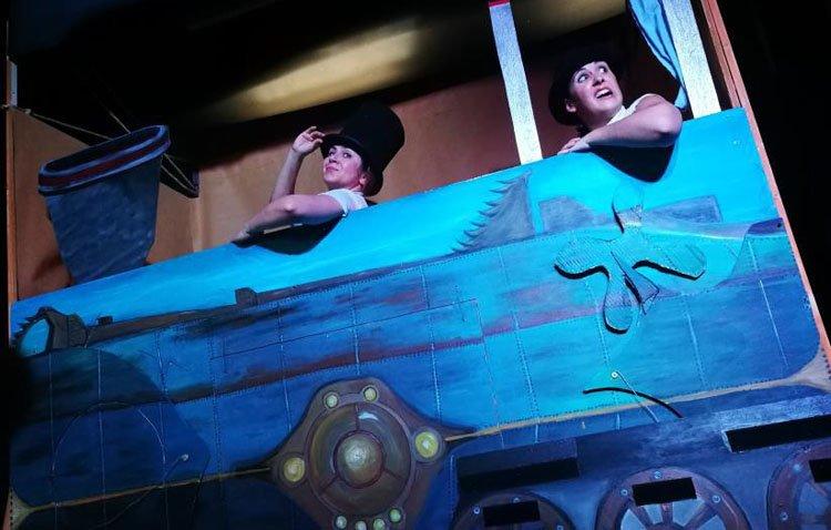 Teatro para toda la familia en Utrera con «Los viajes de Julio Verne»