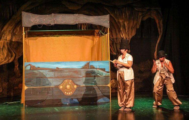 «Los viajes de Julio Verne», una propuesta teatral para toda la familia en Utrera