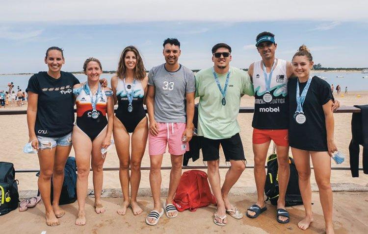 Éxito del Club Natación Utrera en el Sherry Swim de Sanlúcar de Barrameda