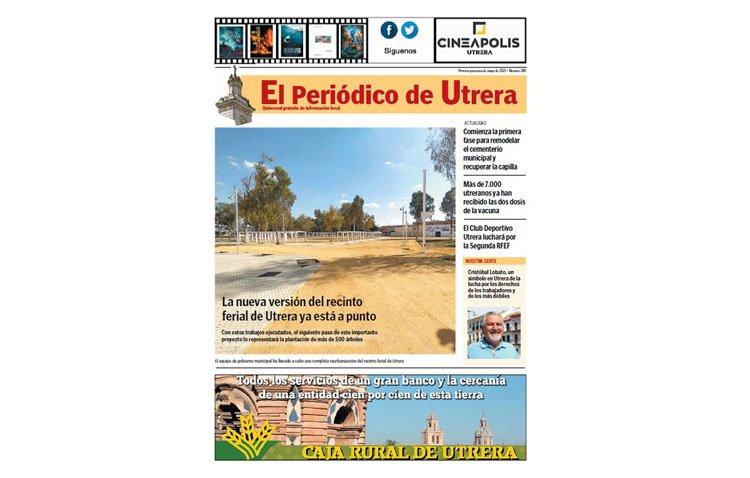 «El Periódico de Utrera» visita el «nuevo» recinto ferial