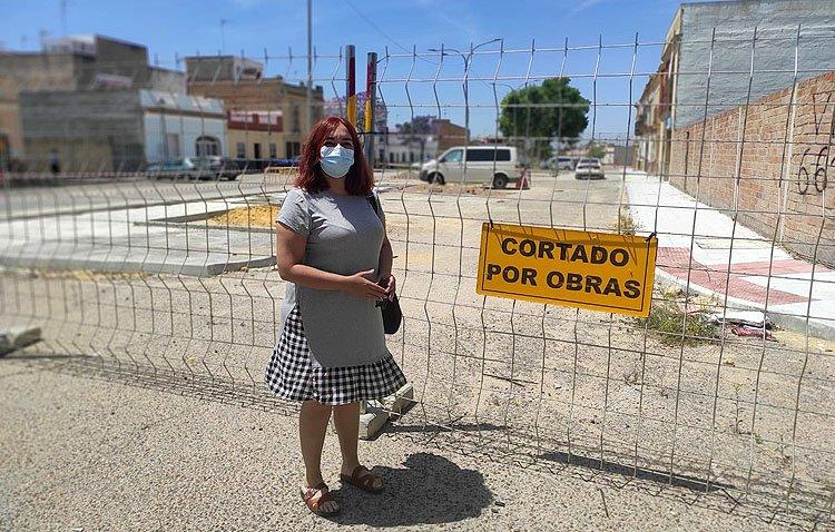 Podemos pide al gobierno de Utrera que «priorice» la finalización de las obras en la barriada Las Torres