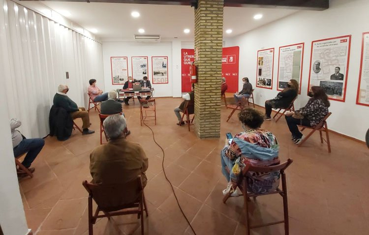 El PSOE de Utrera hace balance de la pandemia en su primera asamblea informativa desde el inicio de la crisis sanitaria