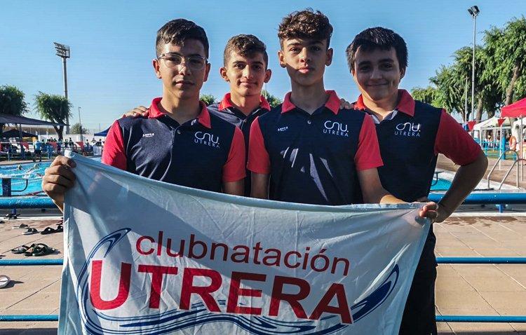 El Club Natación Utrera participan en el XXXV Campeonato de Andalucía alevín de verano
