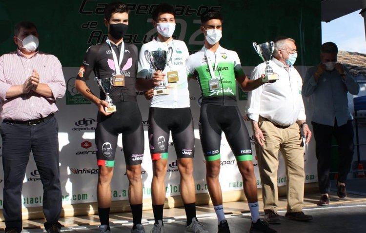 El ciclista David González se proclama subcampeón de Andalucía sub-23 de ruta