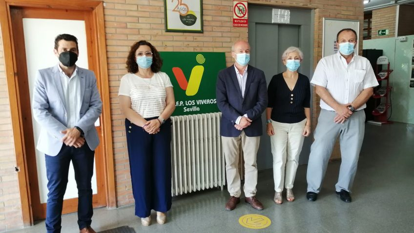 Educación impulsa la mayor oferta de la historia de la FP en Sevilla con 29 nuevas autorizaciones
