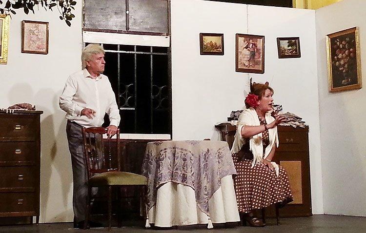La muestra nacional de teatro amateur comienza en Utrera con tres propuestas de la agrupación «Álvarez Quintero»