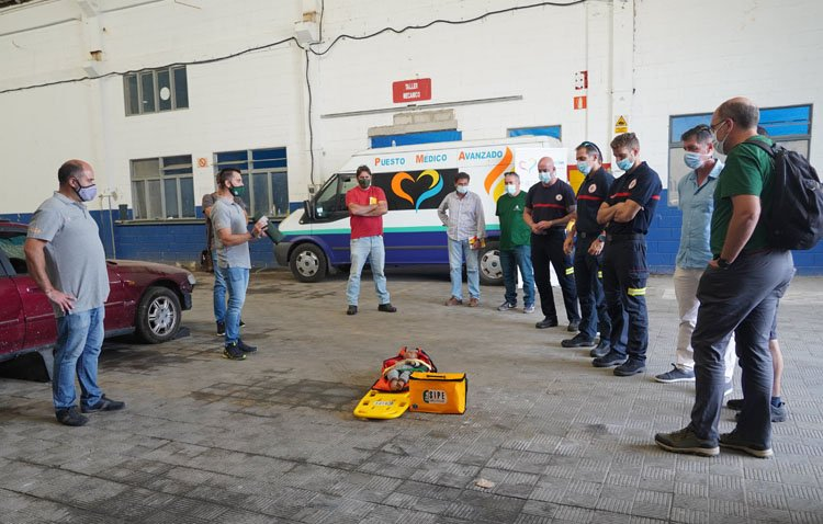 Los Bomberos de Utrera, presentes en unas jornadas de trabajos de equipos de emergencia