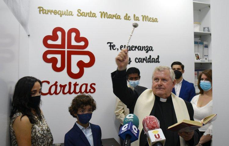 La «casa» de Cáritas de Santa María abre sus puertas para ser «lugar de encuentro y acogida a los más necesitados»