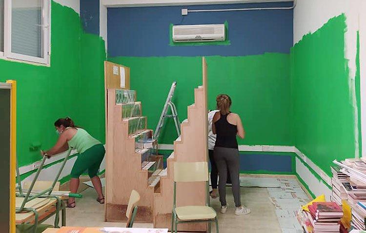 El colegio Alfonso de Orleans diseña su 'aula del futuro'