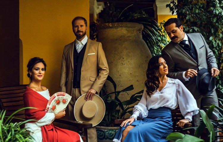 Máxima expectación ante la cita quinteriana con Arturo Pérez-Reverte y Los Compadres en Utrera