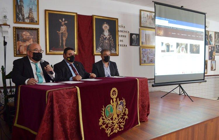 La hermandad de la Vera-Cruz estrena una página web «bidireccional» para mostrar su día a día