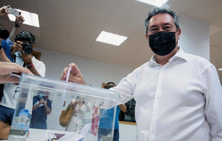 Los militantes del PSOE de Utrera respaldan mayoritariamente a Juan Espadas en su triunfo en las primarias andaluzas