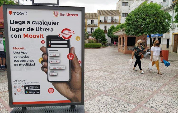 La forma más sencilla para saber cómo moverse en transporte público en Utrera