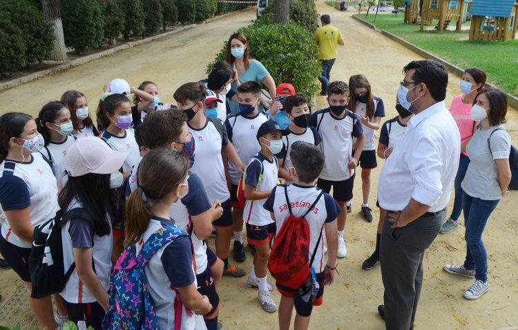 Los escolares de Utrera aprenden de forma lúdica las claves del reciclaje