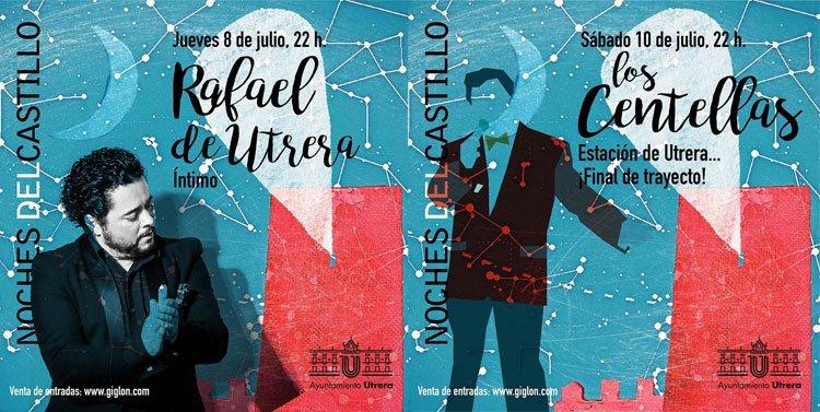 La programación veraniega en el castillo comienza esta semana con Rafael de Utrera y Los Centellas