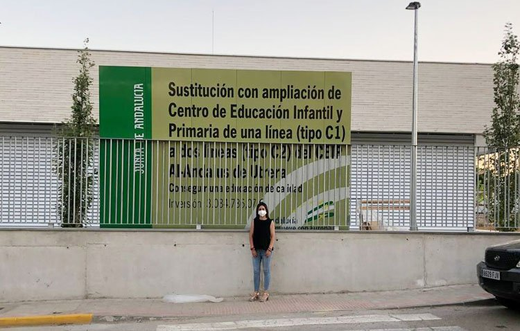 Ciudadanos celebra que el nuevo colegio Al-Andalus se haya podido ejecutar «con la llegada de nuestro partido a la Junta»