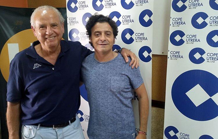Enrique Montoya 'Candela' y Manuel de Angustias, en 'Utrera es cultura'