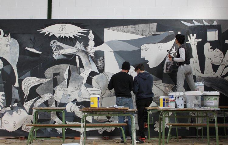 Dos décadas de la escuela-museo en el instituto José María Infantes, un proyecto pionero en España [GALERÍA]